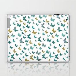 butterflies_yellow Laptop & iPad Skin