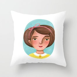 Sweet sadness Throw Pillow