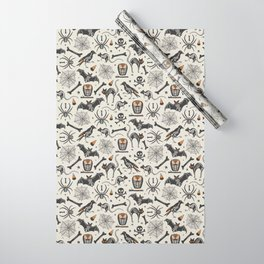 Halloween X-Ray Wrapping Paper