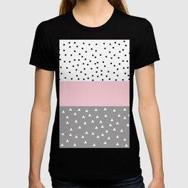 Cute pastel pattern T-shirt