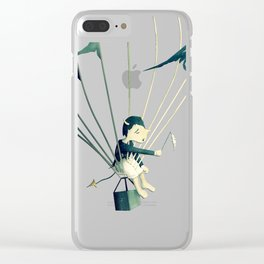 Good Old Fashioned Villain Clear iPhone Case