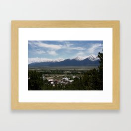 Buena Vista Framed Art Print