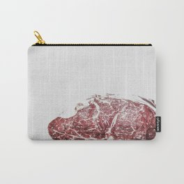 Frozen chunk of cow meat Carry-All Pouch