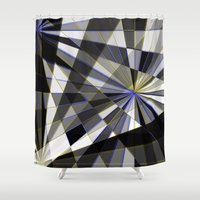 planes Shower Curtains featuring Merged planes by Another Coat