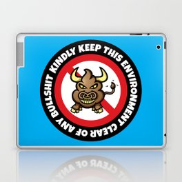 No Bullshit Laptop & iPad Skin