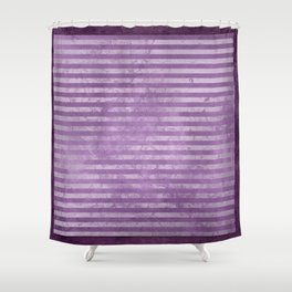 lAVENDER HOOPS Shower Curtain