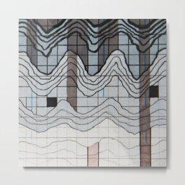 Wave Length 2 Metal Print