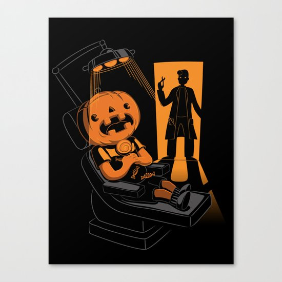 Are You Afraid of the Dentist? Canvas Print