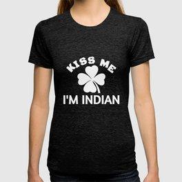 Kiss Me I'm Indian T-shirt