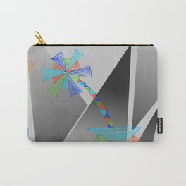 triangle flower Carry-All Pouch