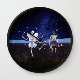 Death Fairy and her helper Wall Clock