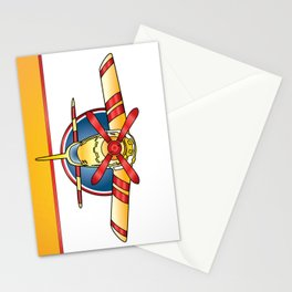 Airplane Print Stationery Cards