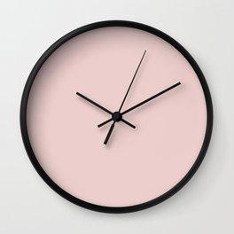 Crystal Pink Wall Clock
