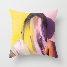 Claire Darrow Throw Pillow