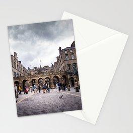 Royal Mile in Edinburgh, Scotland Stationery Cards