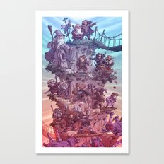 The Quest of Erebor Canvas Print