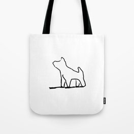 puppy dog Tote Bag