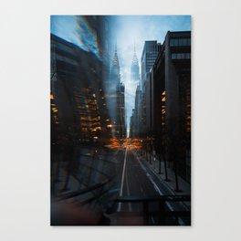 Double Chr*sler Building Canvas Print