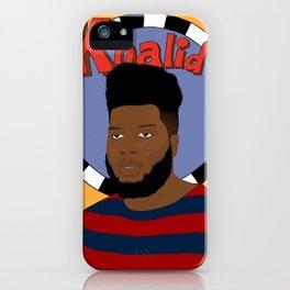 Khalid iPhone Case