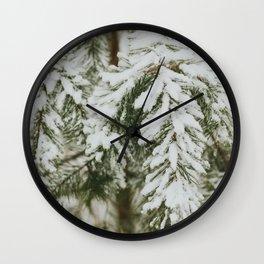 Evergreen Wall Clock