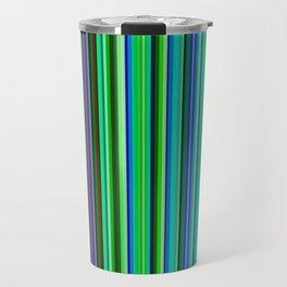 Colorful Barcode Travel Mug