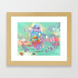 Pretty when you cry Framed Art Print