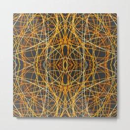 Epimeliad - Colorful Decorative Abstract Art Pattern Metal Print