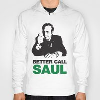 better call saul Hoodies featuring Better Call Saul by Harry Martin