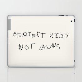 PROTECT KIDS NOT GUNS Laptop & iPad Skin