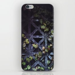 Green Gate iPhone Skin