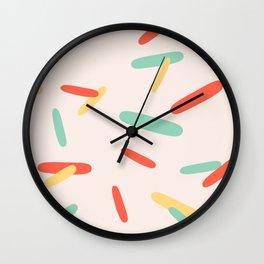 Summer Sprinkles Wall Clock