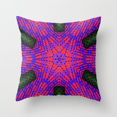Abstract X One Throw Pillow