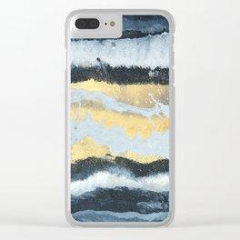 VITAMIN | Abstract acrylic art by Natalie Burnett Art Clear iPhone Case
