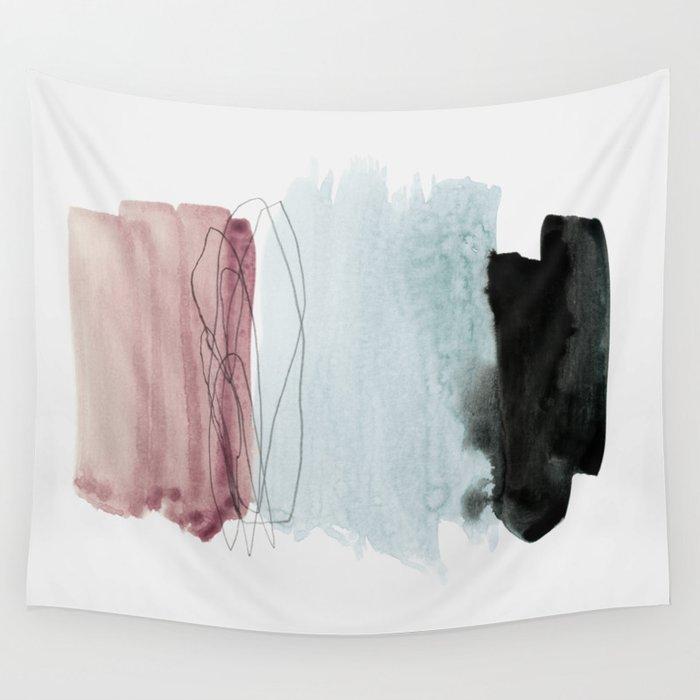 minimalism 4 Wall Tapestry