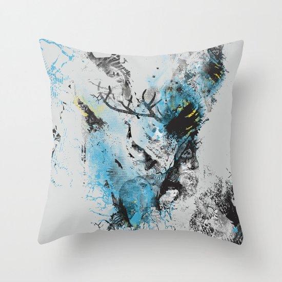 Chaos Thinking Throw Pillow