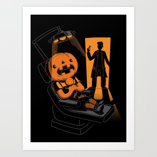 Are You Afraid of the Dentist? Art Print
