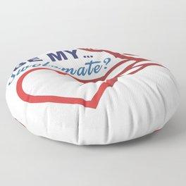 Be Mine? Floor Pillow