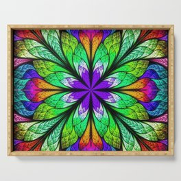 Kaleidoscope Serving Tray