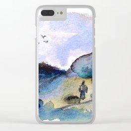 Resande. Clear iPhone Case