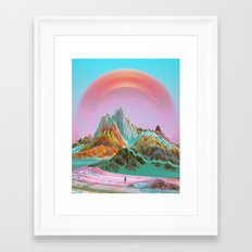 BETTER (everyday 12.06.16) Framed Art Print