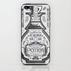 Legend of Zelda Blue Chu Potion Advertisement iPhone & iPod Skin
