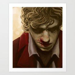Enjolras Portrait Art Print