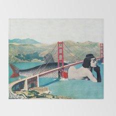 Mermaid Three Throw Blanket