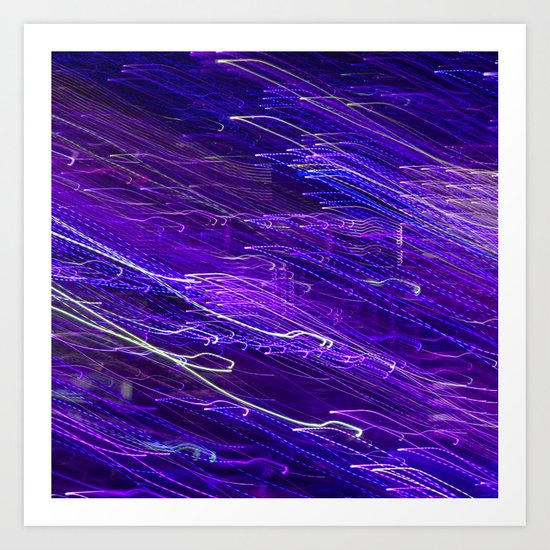 Hues: Purple Art Print