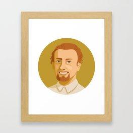 Queer Portrait - Reed Erickson Framed Art Print