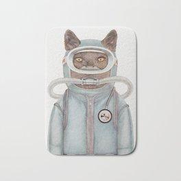 Scuba Cat Bath Mat