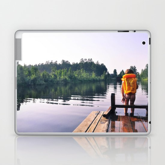 Here I go! Laptop & iPad Skin