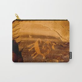 Big Horn Sheep Petroglyph - Nine Mile Canyon - Utah Carry-All Pouch