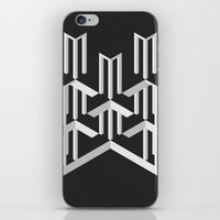 illusion iPhone & iPod Skins featuring Illusion by designpraxis