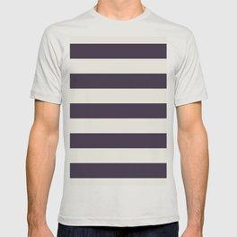 summer beach coastal nautical french fashion navy blue stripes T-shirt